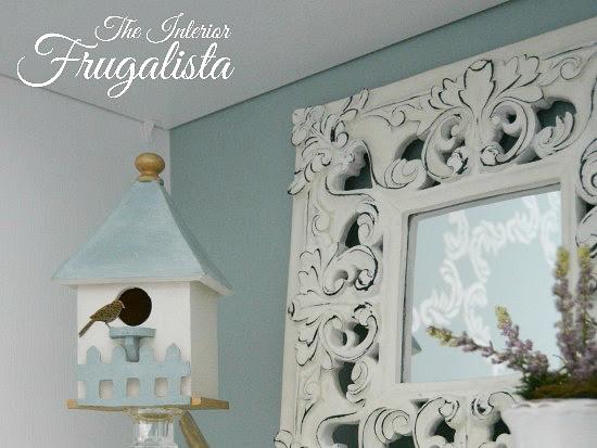 Easy DIY Spring Vignette Birdhouses for under $5