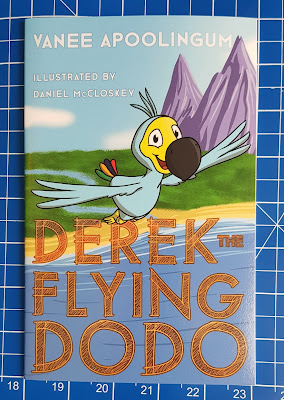 Derek The Flying Dodo by Vanee Apoolingum children's book cover