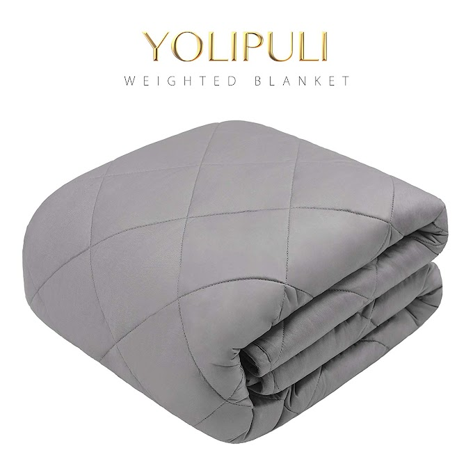 AMAZON - 40% off Weighted Blanket for Adult 15lbs 17lbs or 20lbs