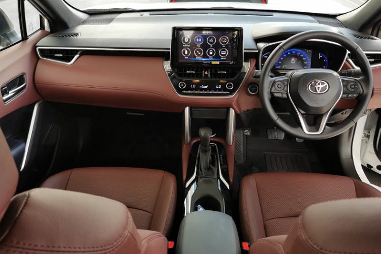 Toyota Corolla Cross bản 1.8 Sport sắp về Việt Nam có gì?