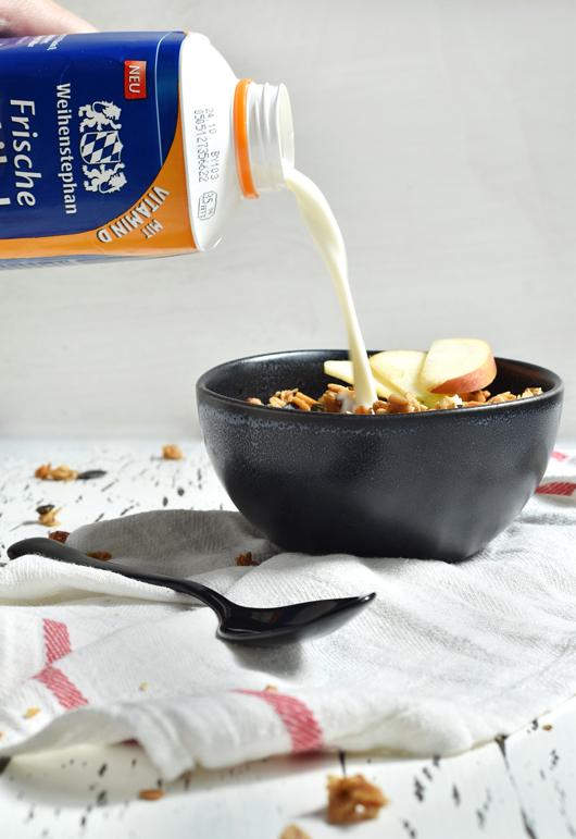 Für den perfekten Start in die grau-kalte Jahreszeit: Selbstgemachtes Granola mit Vitamin D