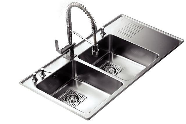 Chậu rửa chén bát Teka ZENIT R15-2B 1D RHD