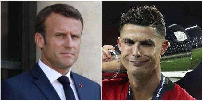 Ronaldo et Macron ont partagé des photos trompeuses