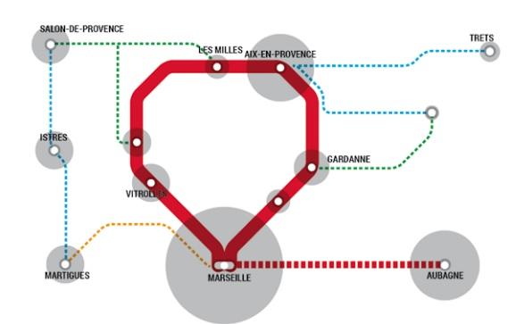 Mobilid es paluds aubagne gemenos cr ation de la m tropole aix marseille provence au 1er - Train marseille salon de provence ...