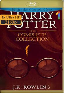 Harry Potter Collection (2001-2011) [4K 2160p HDR] [Latino-Inglés] [LaPipiotaHD]