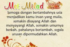 Ucapan Ulang Tahun Untuk Istri Secara Islami