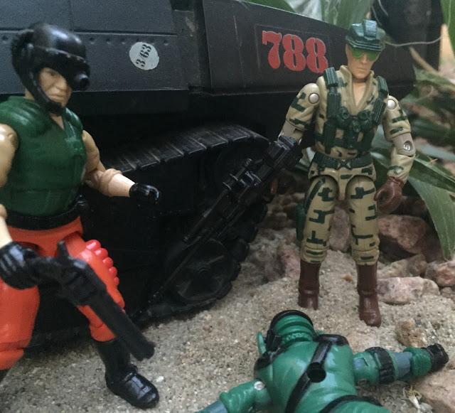 1989 Recoil, 1987 Worms, Stalker, Aero Viper, Maggot, 2004 Desert Patrol Stalker, 1990 Bullhorn, Hot Seat, Night Viper, 1983 Hiss Tank