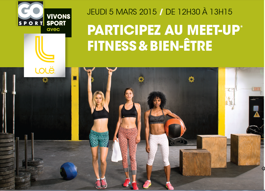 5 mars 2015 Meet-up Fitness & Bien-être