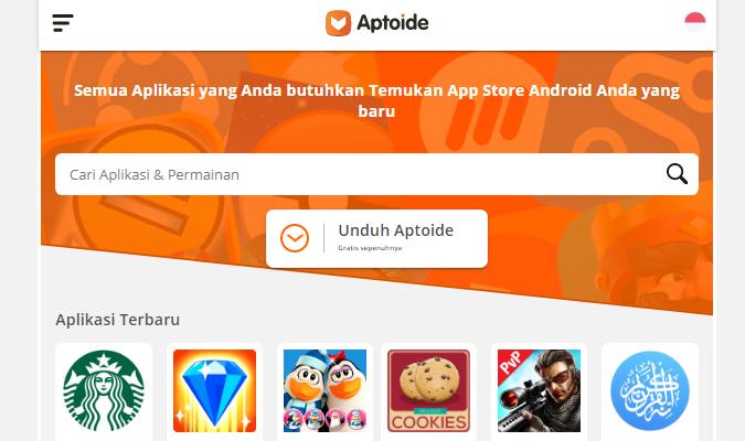Tempat Terbaik tuk Download Aplikasi Android - APtoide