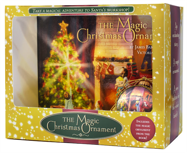 The Magic Christmas Ornament Gift Set Giveaway