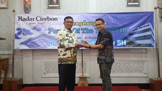 Azis Terpilih Sebagai Person of The Year 2019 Years Radar Cirebon