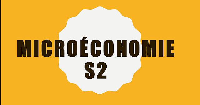 Cours Microéconomie S2