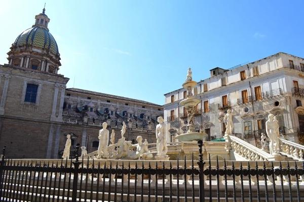 fontana pretoria-piazza-Palermo