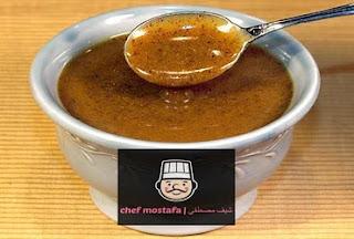 brown mustard sauce