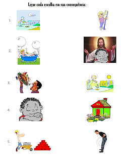 Resultado de imagem para pelos caminhos da evangelização - LEI DE CAUSA E EFEITO