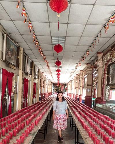 Standing Buddha Dharmikarama Burmese Temple
