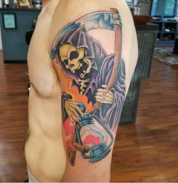 Grim Reaper Tattoo