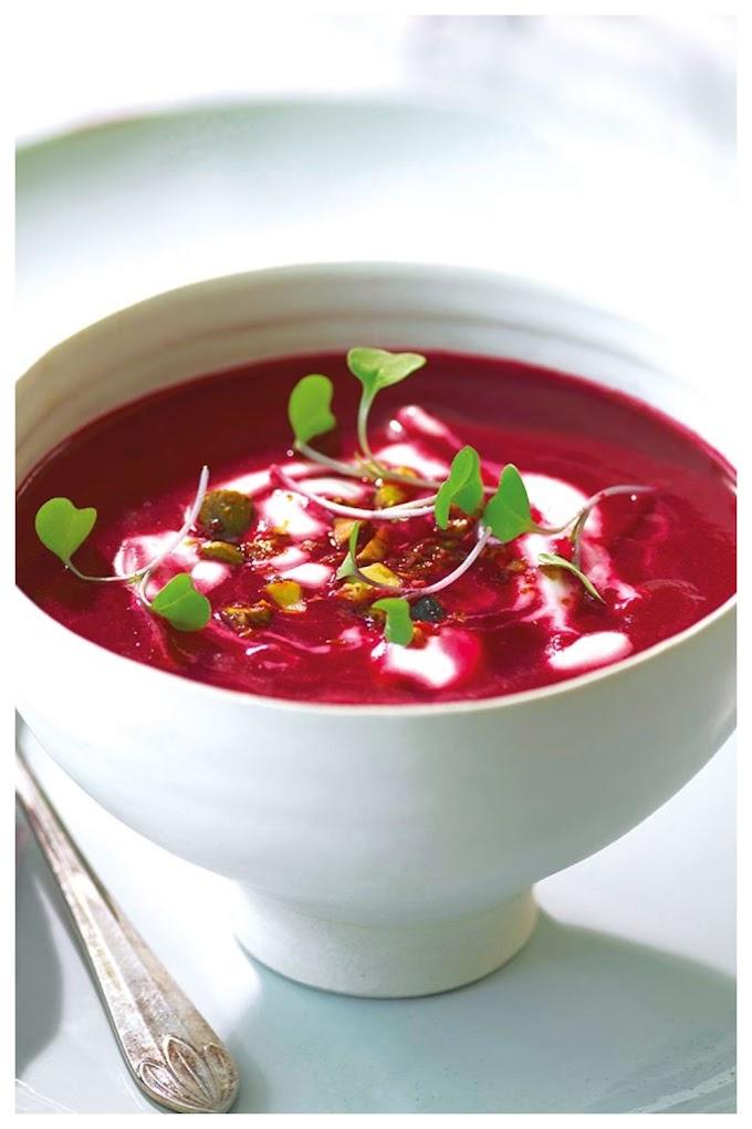 Beetroot pepper soup Recipe  - பீட்ரூட் பெப்பர் சூப்