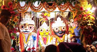 भगवान श्री जगन्नाथ को कड़ी-भात व मालपुआ का लगा भोग | #NayaSaberaNetwork