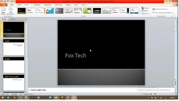 شرح برنامج البوربوينت و كيفية انشاء عرض تقديمى محترف - powerpoint