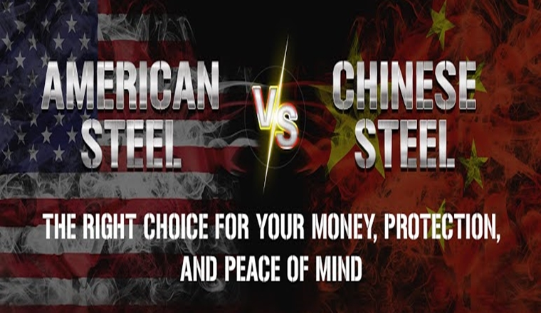 American vs. Chinese Steel: Patriotism and Safety Over Price #infographic