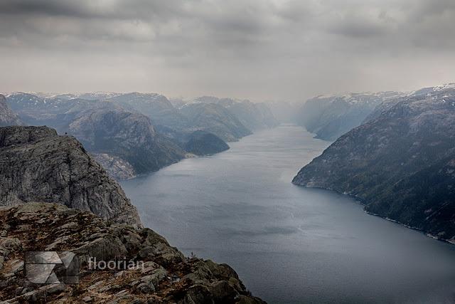 Lysefjord. Norwegia