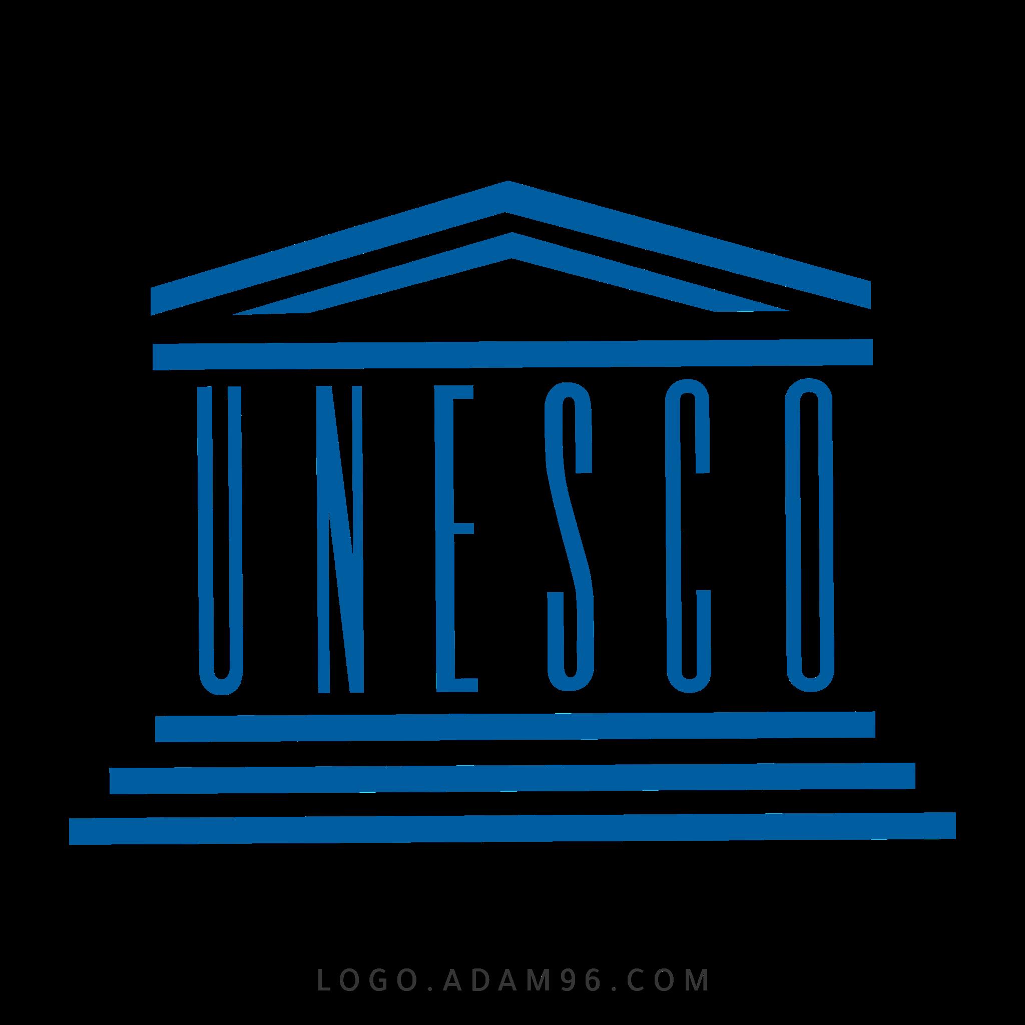 تحميل شعار منظمة اليونسكو العالمي لوجو رسمي عالي الدقة LOGO UNESCO