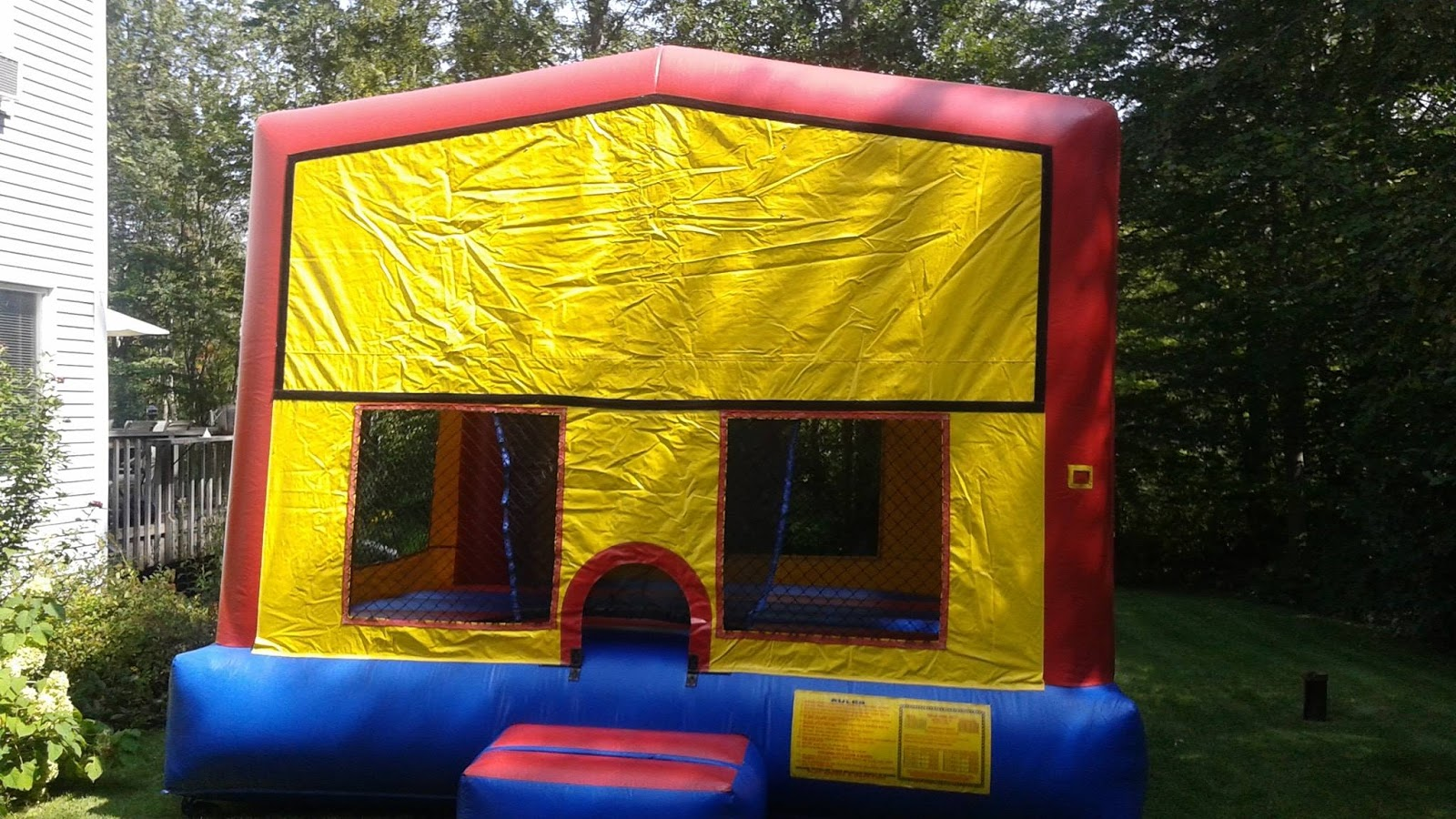 Pleasing Large Modular Bounce House Pete And Chris Amusements Home Interior And Landscaping Ferensignezvosmurscom