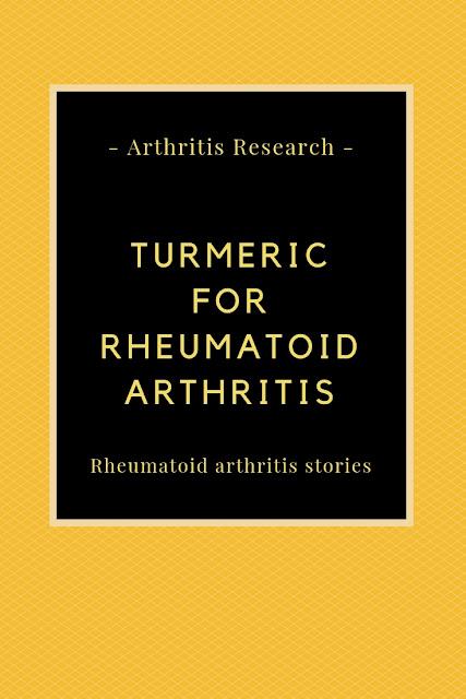 Turmeric For Rheumatoid Arthritis