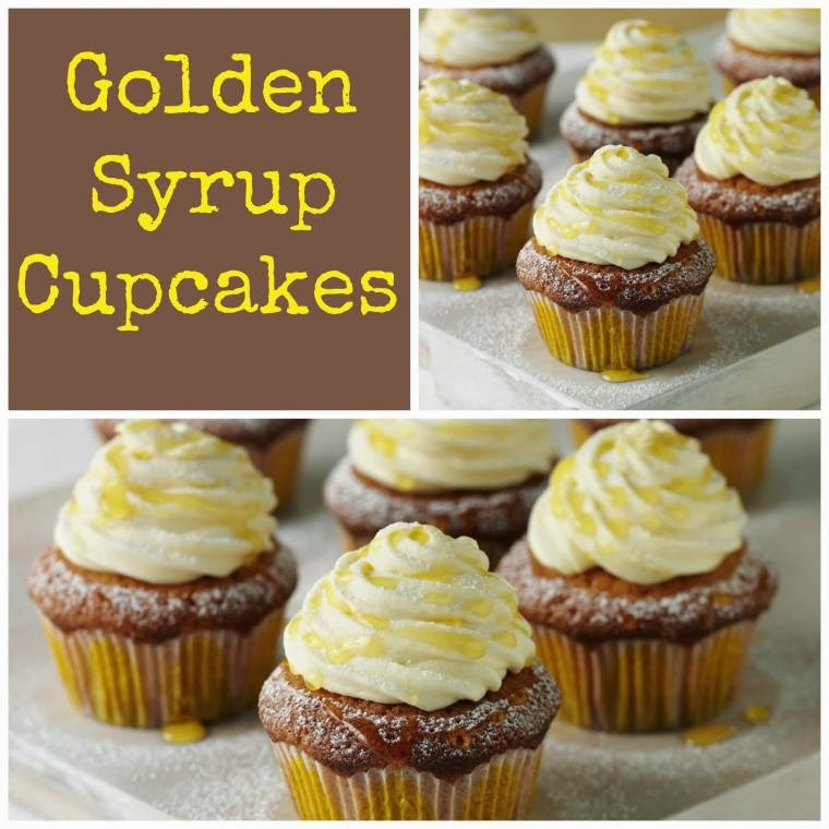 Lyle's Golden Syrup Cupcakes