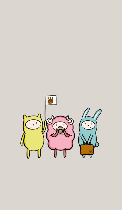 Lor Moon three friends
