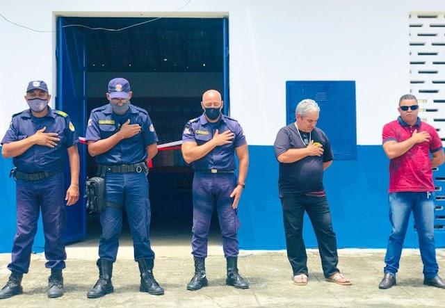 PREFEITURA DE ITAMBÉ ENTREGA A NOVA SEDE DA GUARDA CIVIL MUNICIPAL