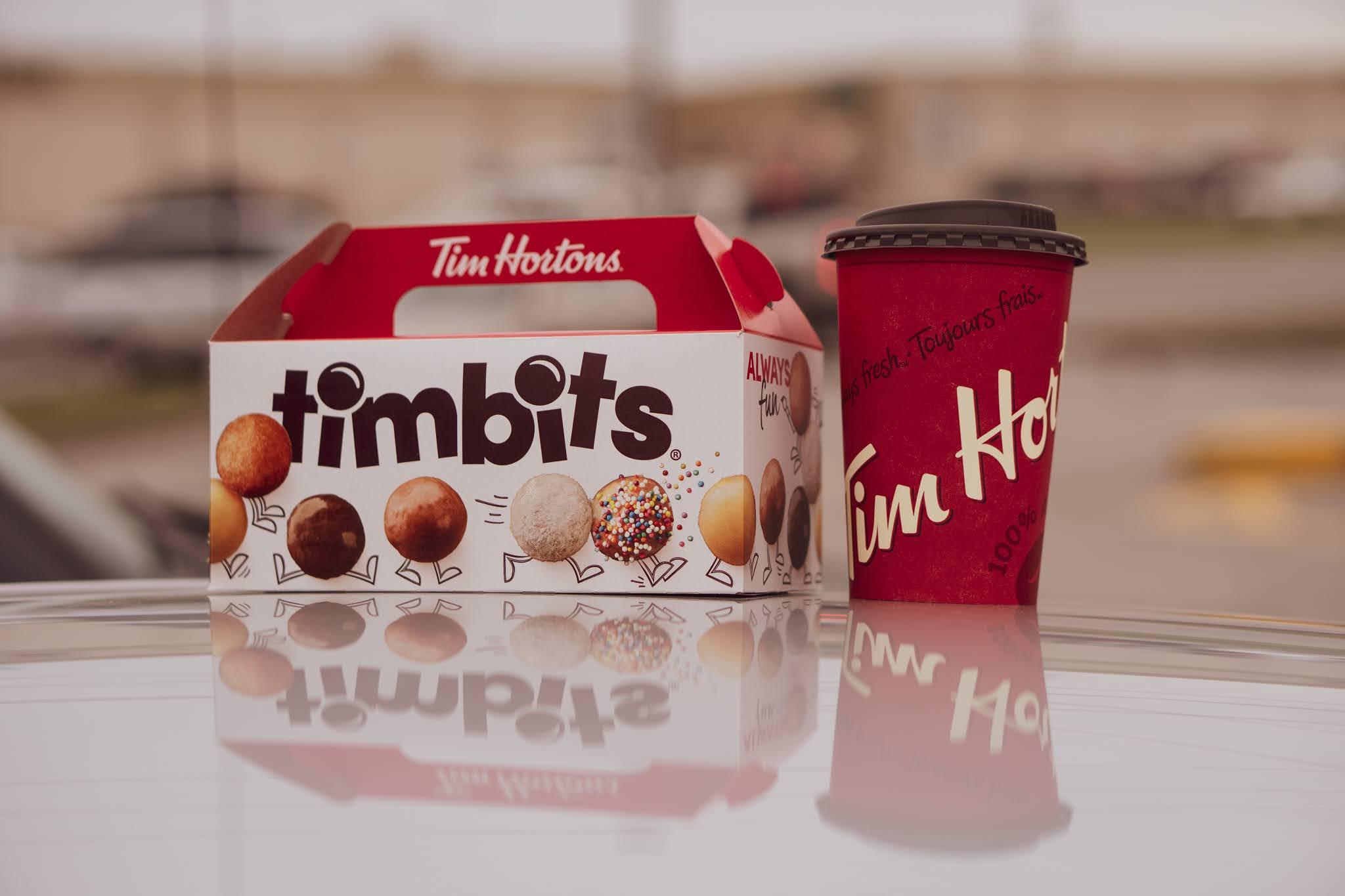 Tim hortons café e tim bits