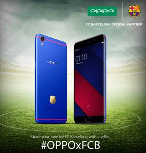 You can now win a special edition FC Barcelona Oppo F1 Plus through a Facebook contest, details inside