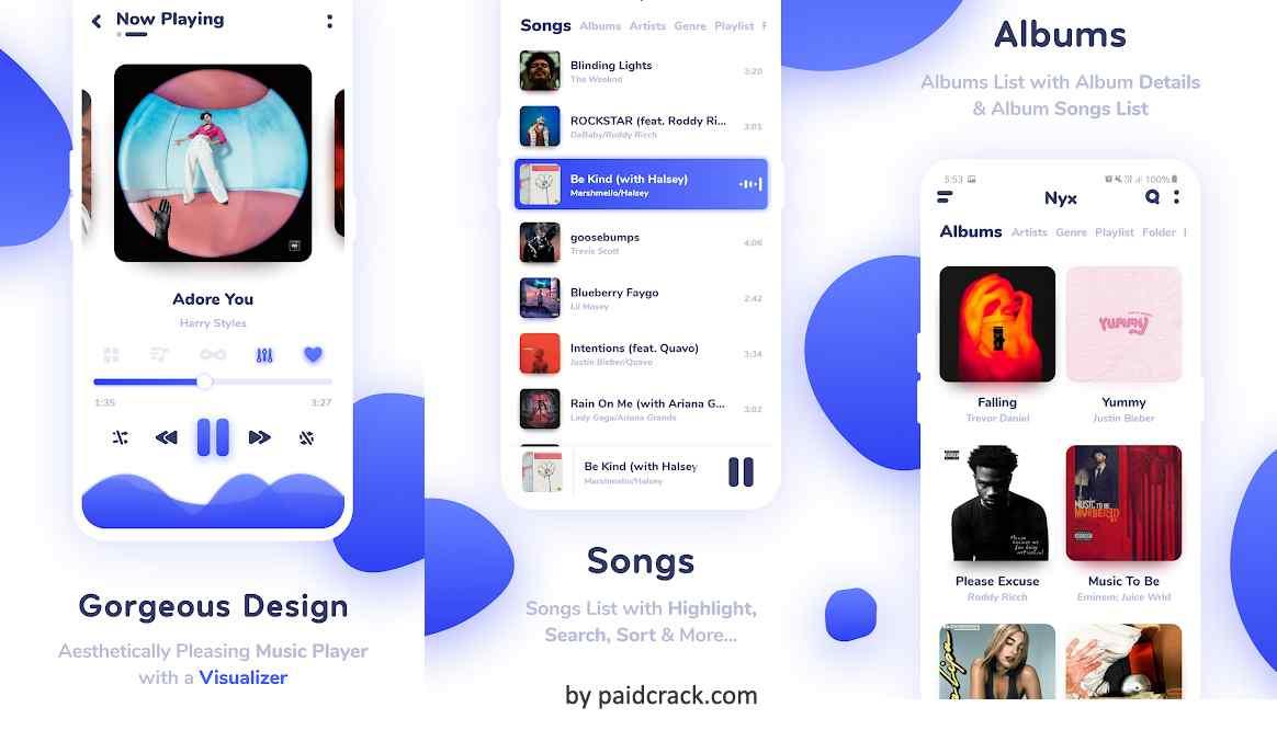 Nyx Music Player Mod Apk