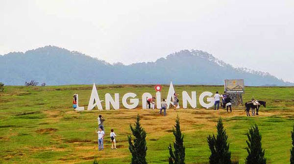 cao nguyên Langbiang- tuyến điểm miền Trung