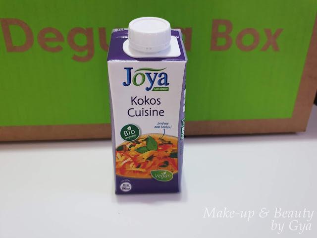 Organic Coconut Cuisine Joya Degustabox Marzo ´19 - Mi última cajita