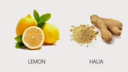 Lemon, Halia, Asam Keping & Epal Hijau Cepatkan Kurus