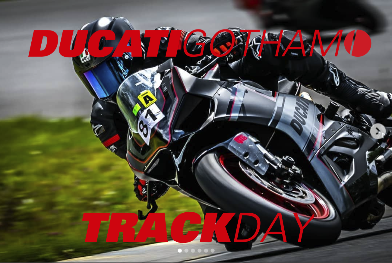 2021 Gotham Ducati Desmo Owners Club Track Day