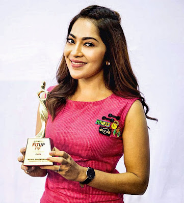 Indian TV Host