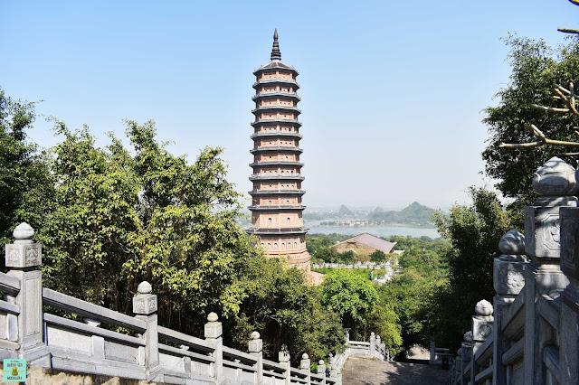Bao Thap Pagoda en Bai Dinh