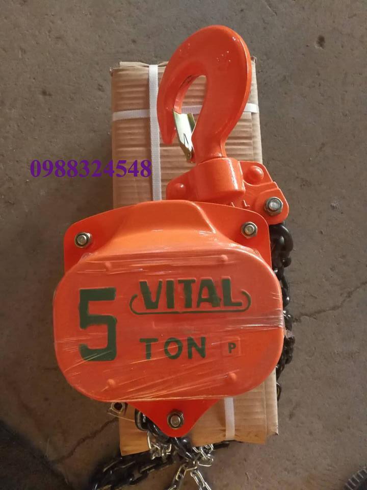 Pa lăng kéo tay Vital VP5-50 5000kg