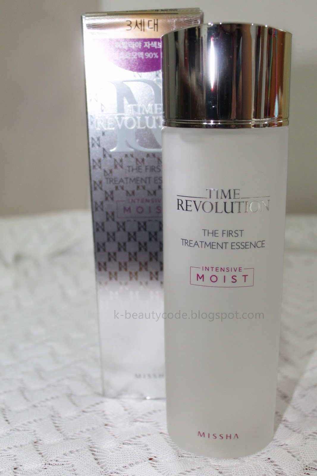 K Beauty Code March 2017 Missha Time Revolution The First Treatment Essence Intensive Moist This Is Also My 2nd Purchasing Full Size From