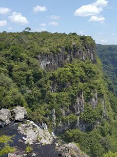 Canyon Fortaleza, em Cambará do Sul