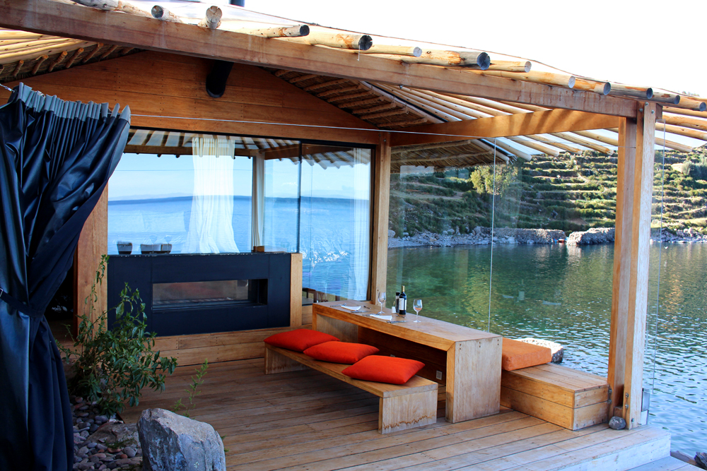 Luxury private lodge, Lake Titicaca, Peru - South America travel blog