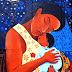 Mural realizado por el duraznense Aldama abraza un mensaje de vida