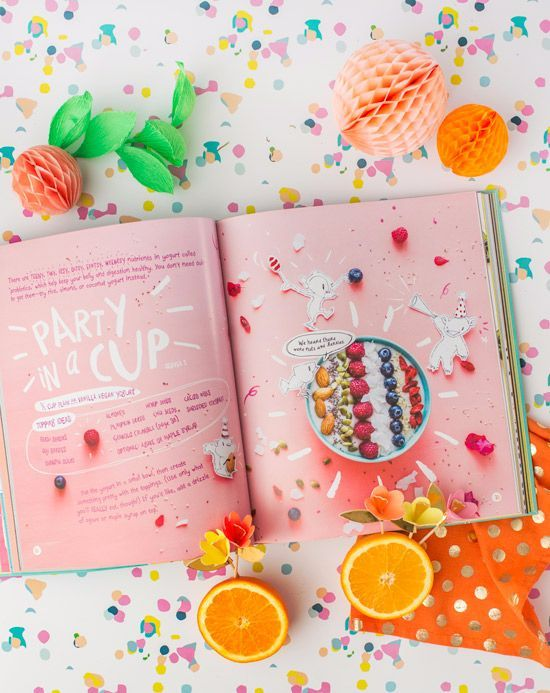 Pink Color Page Book Beautiful Interior Design