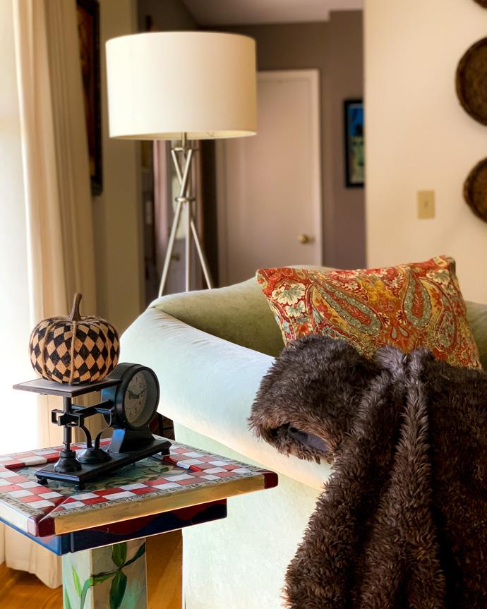 Fall Living Room Tour
