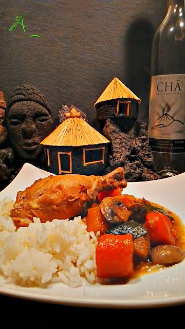 La cuisine de christine le poulet la mangue du pico do for La cuisine de christine