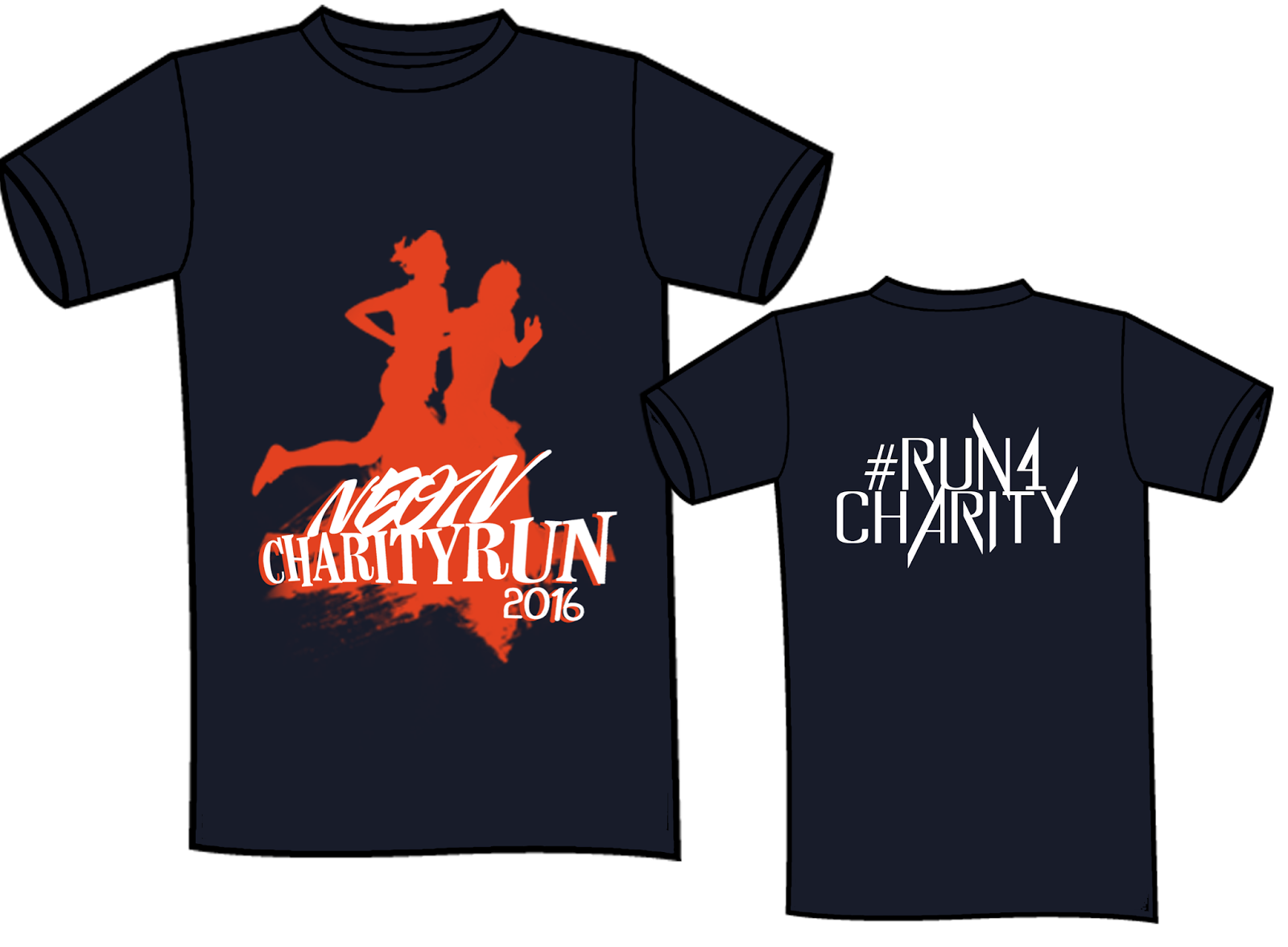 how to set up a charity run